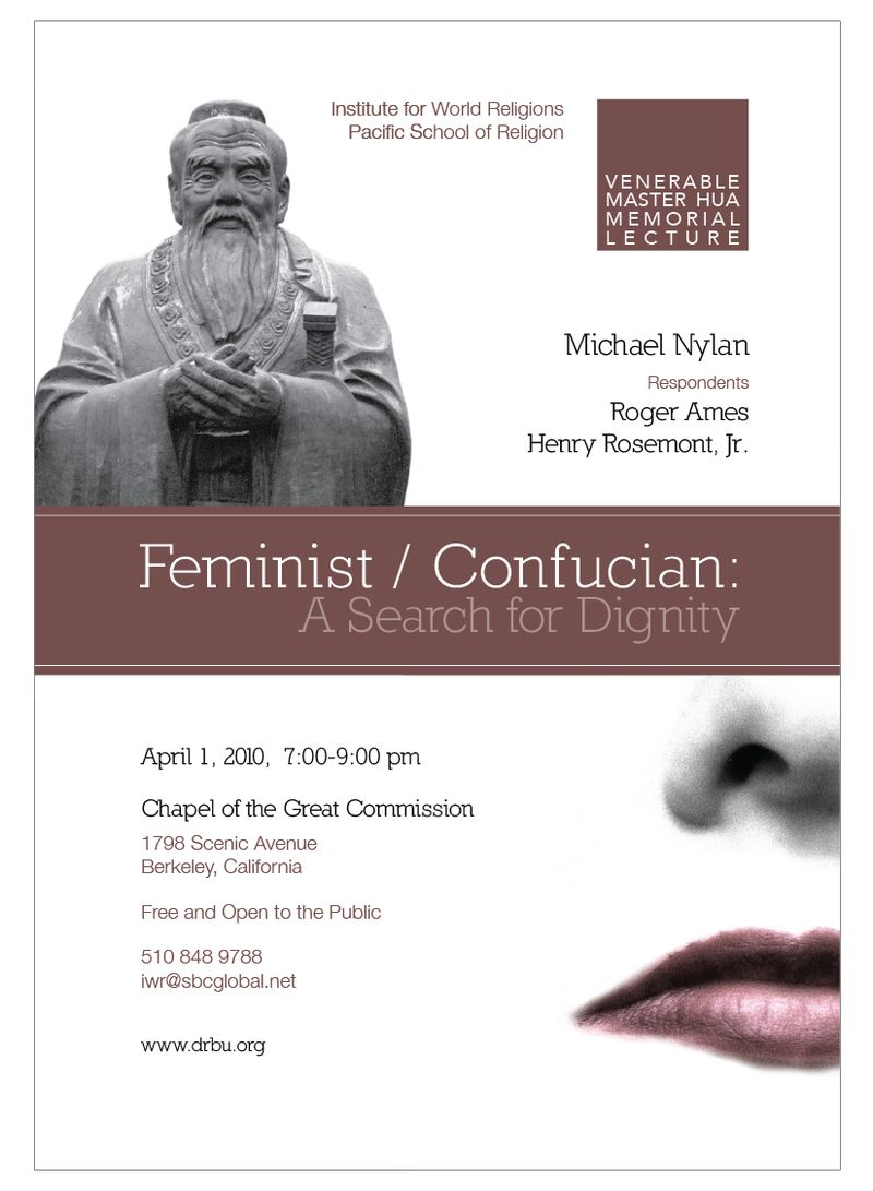 Feminist Confucian-A Search for Dignity