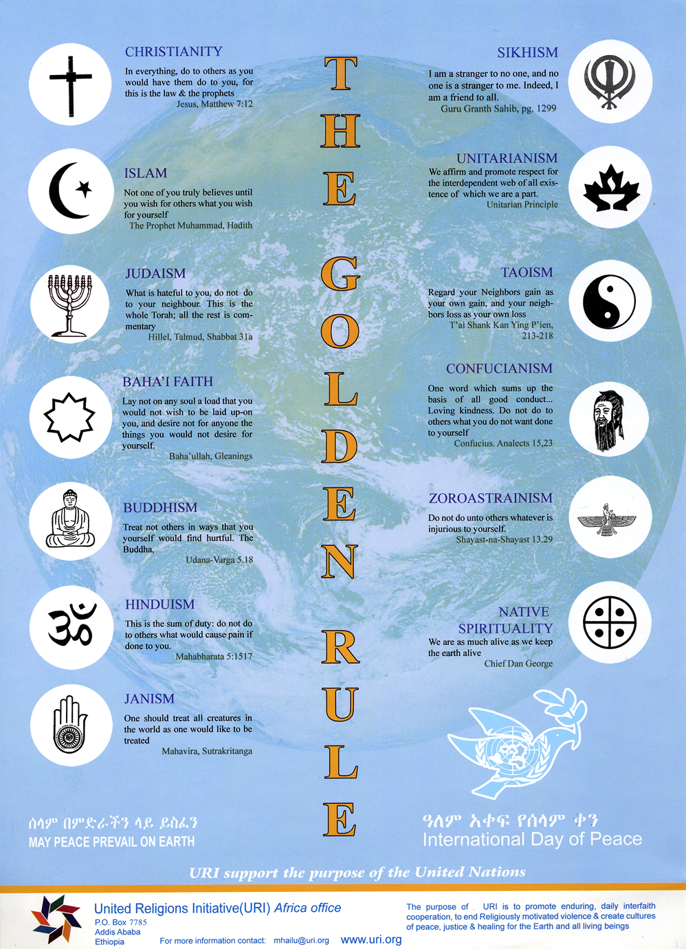 Dharma Forest Golden Rule Day