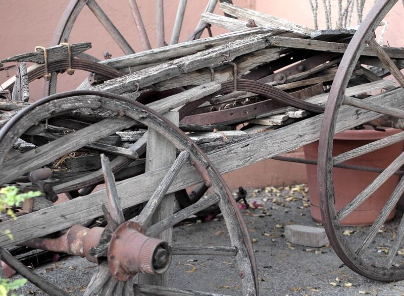 Wagon in Tucson